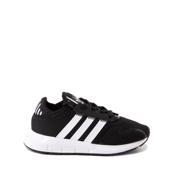 Main view of adidas Swift Run X Athletic Shoe - Little Kid - Black