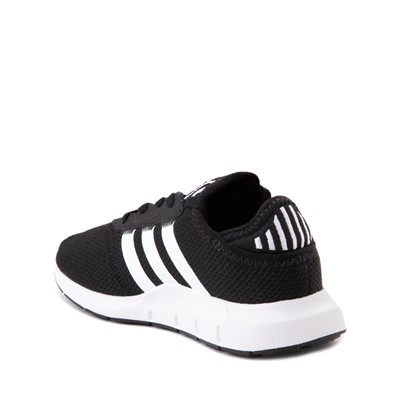 Alternate view of adidas Swift Run X Athletic Shoe - Little Kid - Black