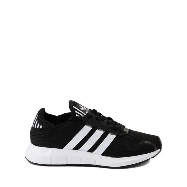 Main view of adidas Swift Run X Athletic Shoe - Big Kid - Black