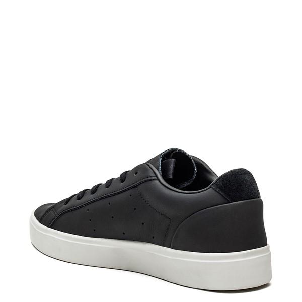 alternate image alternate view Womens adidas Sleek Athletic Shoe - BlackALT1
