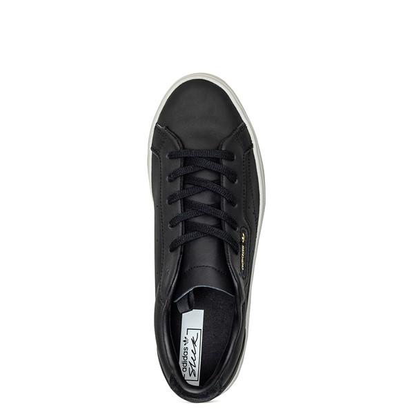 alternate image alternate view Womens adidas Sleek Athletic Shoe - BlackALT2