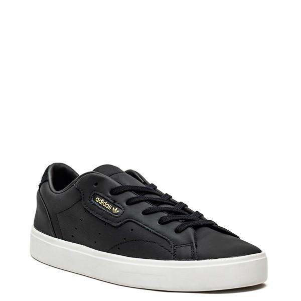 alternate image alternate view Womens adidas Sleek Athletic Shoe - BlackALT5