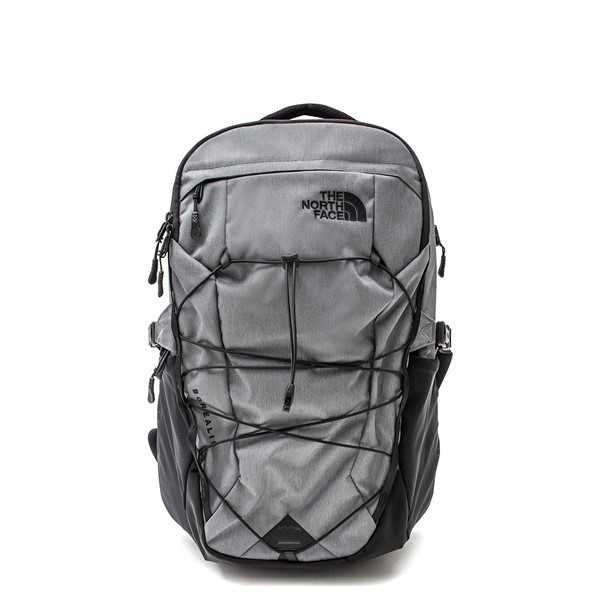 The North Face Borealis Backpack - Zinc Grey / Black