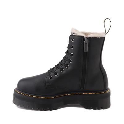Alternate view of Dr. Martens Jadon Faux Fur Boot - Black