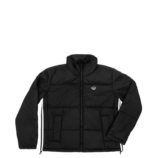 Main view of Womens adidas Short Puffer Jacket - Black