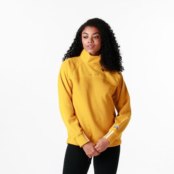 Womens adidas R.Y.V. Cropped Sweatshirt - Legacy Gold