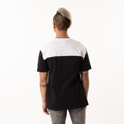 Alternate view of Mens adidas Classic Color-Block Tee - Black / White