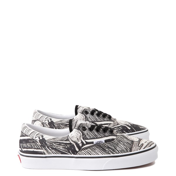 Vans x MoMA Era Edvard Munch Skate Shoe - White / Black