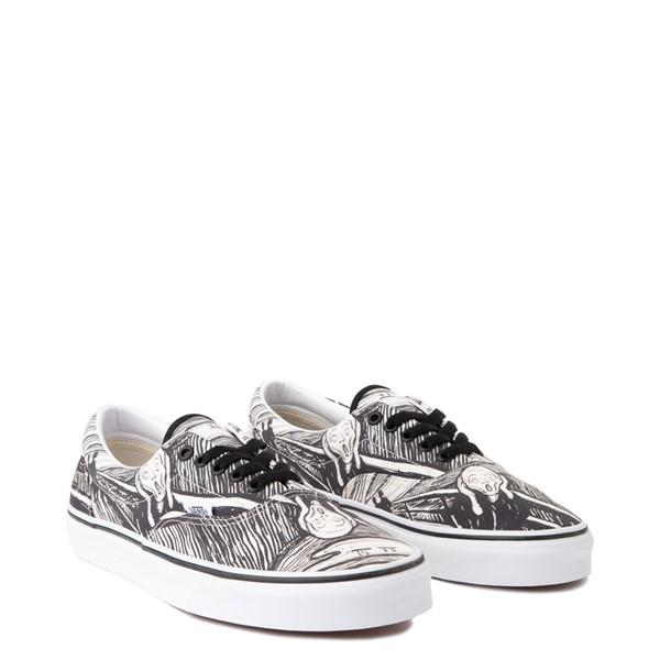 alternate image alternate view Vans x MoMA Era Edvard Munch Skate Shoe - White / BlackALT1