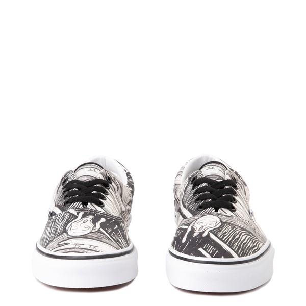 alternate image alternate view Vans x MoMA Era Edvard Munch Skate Shoe - White / BlackALT4