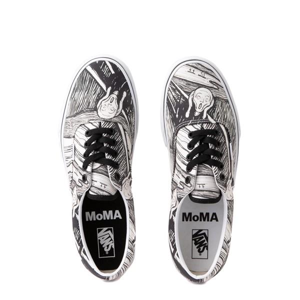 alternate image alternate view Vans x MoMA Era Edvard Munch Skate Shoe - White / BlackALT4B