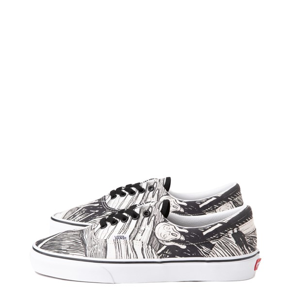 alternate image alternate view Vans x MoMA Era Edvard Munch Skate Shoe - White / BlackALT6