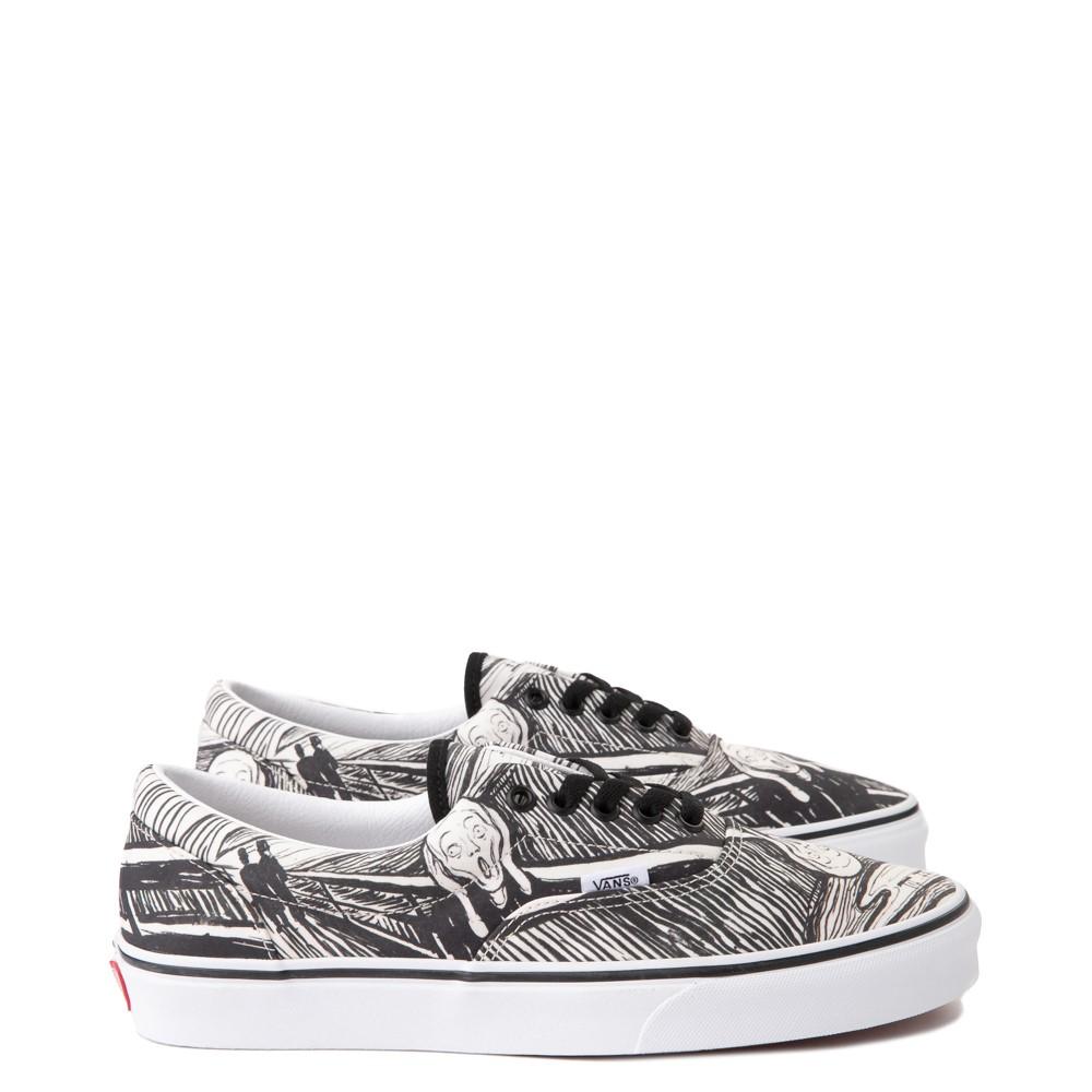 Vans x MoMA Era Edvard Munch Skate Shoe - White / Black