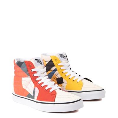 Alternate view of Vans x MoMA Sk8 Hi Lyubov Popova Skate Shoe - Red