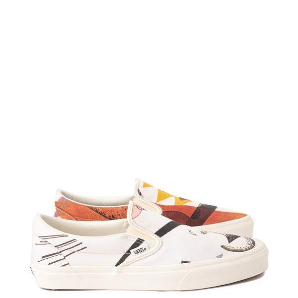 Vans x MoMA Slip On Vasily Kandinsky Skate Shoe - Natural