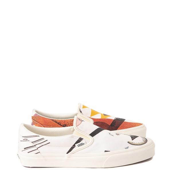 Main view of Vans x MoMA Slip On Vasily Kandinsky Skate Shoe - Natural