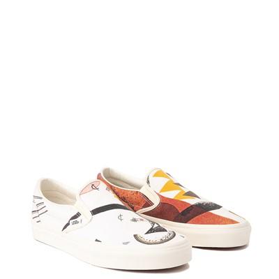 Alternate view of Vans x MoMA Slip On Vasily Kandinsky Skate Shoe - Natural