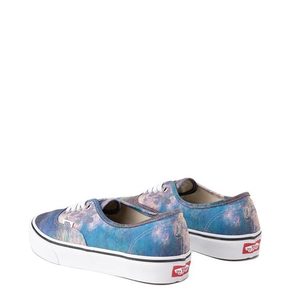 alternate image alternate view Vans x MoMA Authentic Claude Monet Skate Shoe - BlueALT1