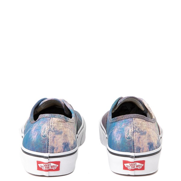 alternate image alternate view Vans x MoMA Authentic Claude Monet Skate Shoe - BlueALT4