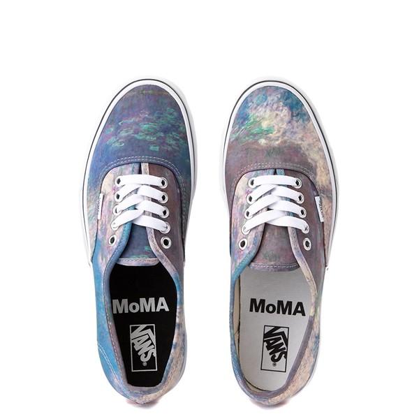 alternate image alternate view Vans x MoMA Authentic Claude Monet Skate Shoe - BlueALT4B