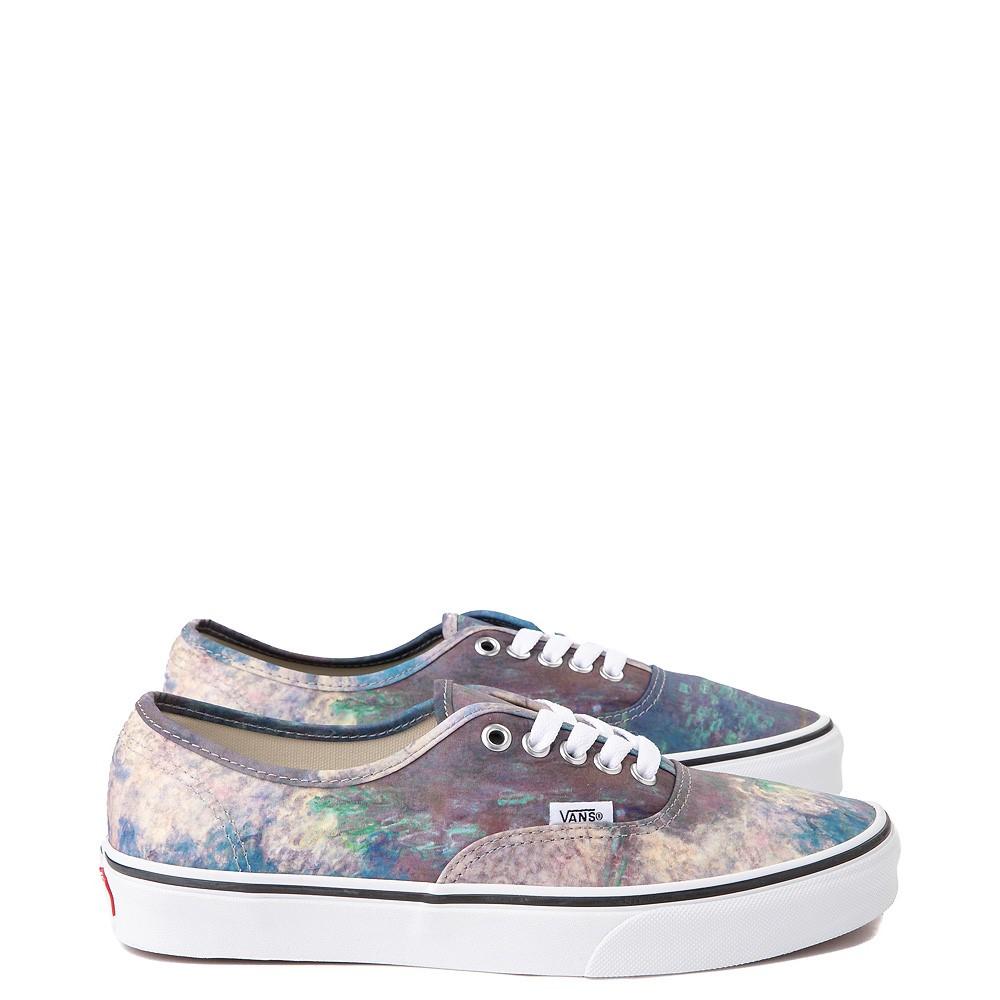 Vans x MoMA Authentic Claude Monet Skate Shoe - Blue