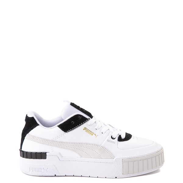 Womens Puma Cali Sport Athletic Shoe - White / Black