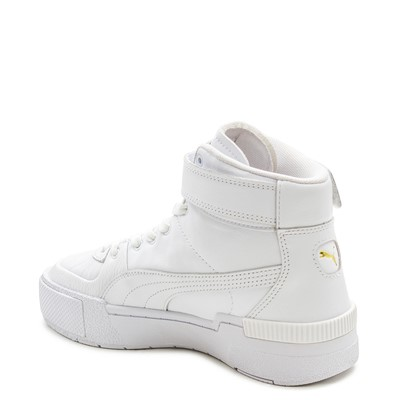 Alternate view of Womens Puma Cali Sport Top Athletic Shoe - White
