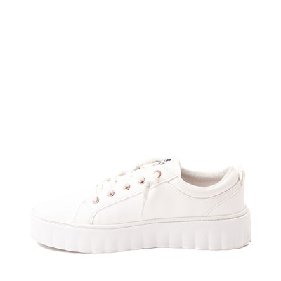 Alternate view of Womens Roxy Sheilahh Platform Casual Shoe - White