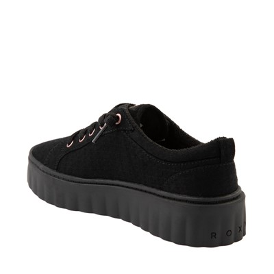 Alternate view of Womens Roxy Sheilahh Platform Casual Shoe - Black