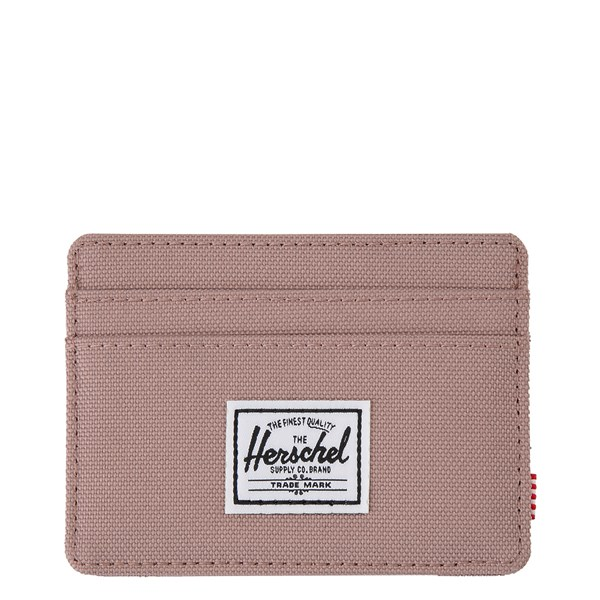 Main view of Herschel Supply Co. Charlie Wallet - Ash Rose