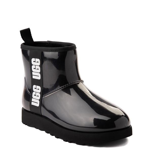 alternate image alternate view Womens UGG® Classic Clear Mini II Boot - BlackALT5
