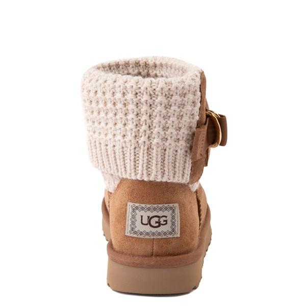 alternate image alternate view Womens UGG® Classic Solene Mini Boot - Chestnut / OatmealALT2B