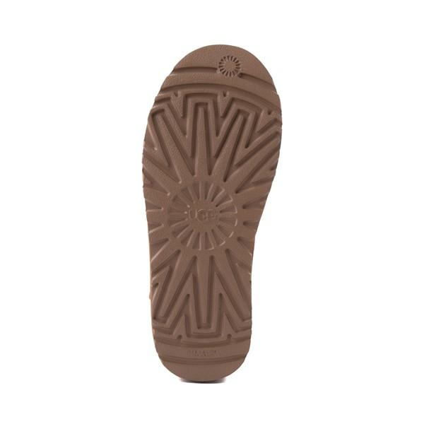 alternate image alternate view Womens UGG® Classic Solene Mini Boot - Chestnut / OatmealALT3