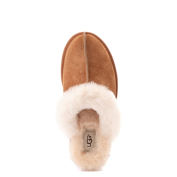 alternate image alternate view Womens UGG® Scuffette II Slipper - ChestnutALT4B