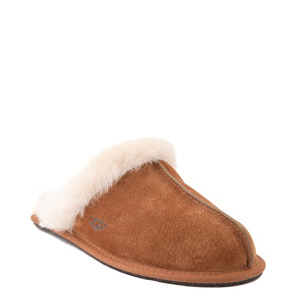 alternate image alternate view Womens UGG® Scuffette II Slipper - ChestnutALT5