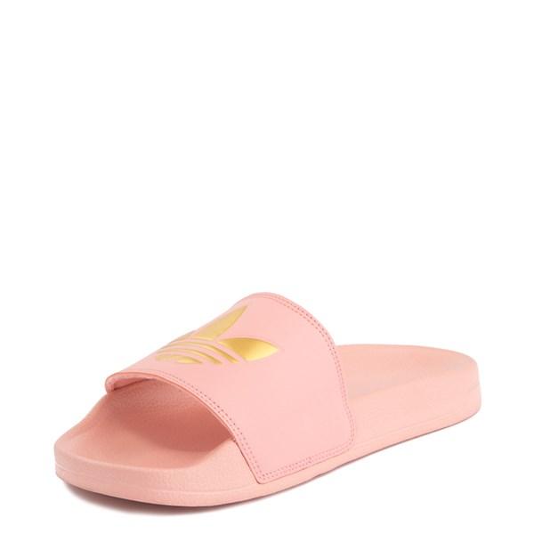 alternate image alternate view Womens adidas Adilette Lite Slide Sandal - Trace Pink / GoldALT3