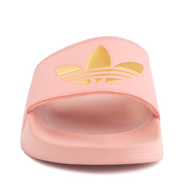 alternate image alternate view Womens adidas Adilette Lite Slide Sandal - Trace Pink / GoldALT4