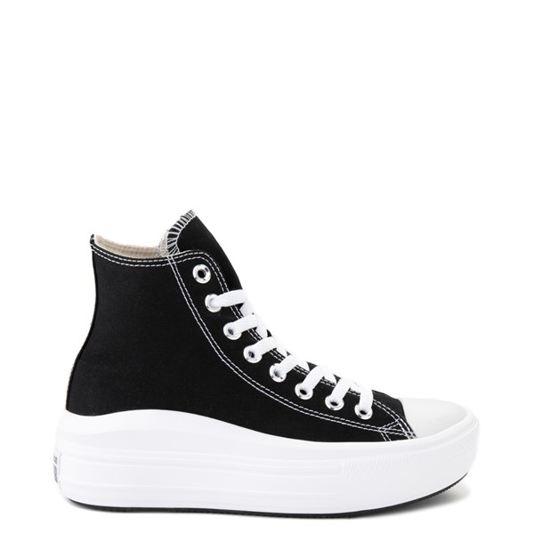 Main view of Womens Converse Chuck Taylor All Star Hi Move Platform Sneaker - Black