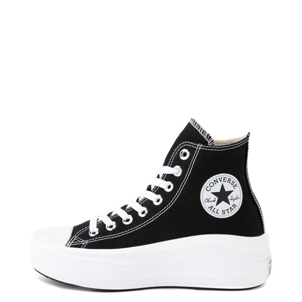 alternate image alternate view Womens Converse Chuck Taylor All Star Hi Move Platform Sneaker - BlackALT1