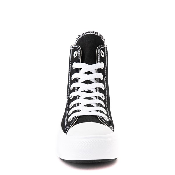 alternate image alternate view Womens Converse Chuck Taylor All Star Hi Move Platform Sneaker - BlackALT4