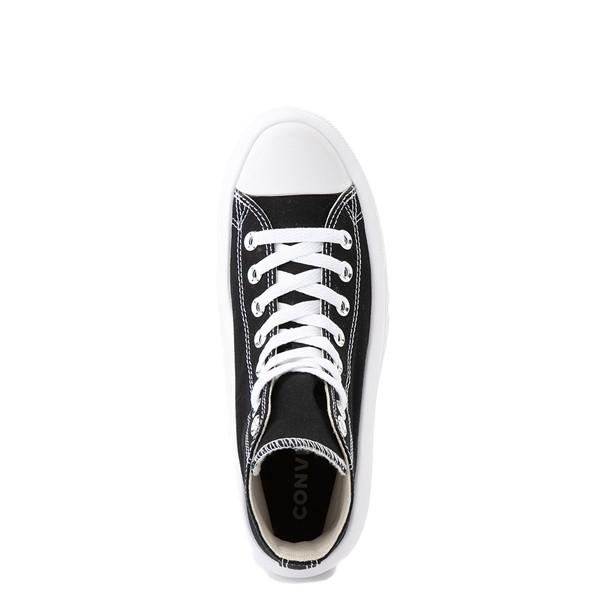 alternate image alternate view Womens Converse Chuck Taylor All Star Hi Move Platform Sneaker - BlackALT4B