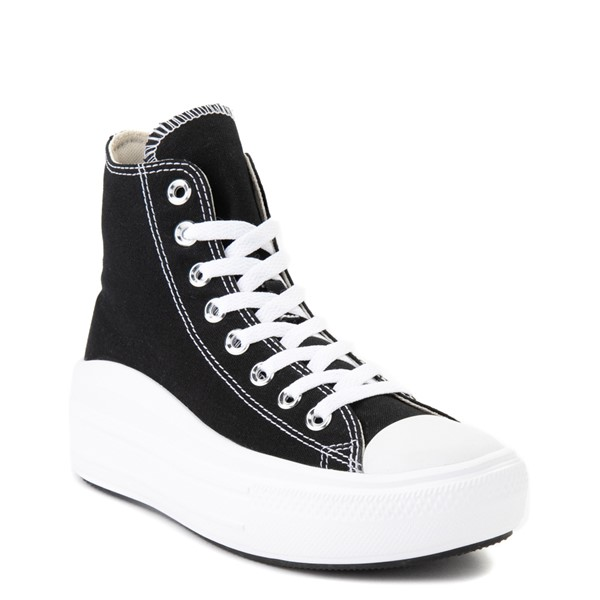alternate image alternate view Womens Converse Chuck Taylor All Star Hi Move Platform Sneaker - BlackALT5