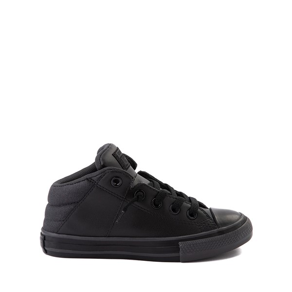 Converse Chuck Taylor All Star Axel Mid Sneaker - Little Kid / Big Kid - Black Monochrome