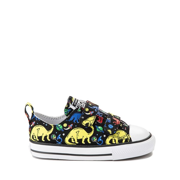 Main view of Converse Chuck Taylor All Star 2V Dinos Lo Sneaker - Baby / Toddler - Black