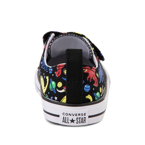 alternate image alternate view Converse Chuck Taylor All Star 2V Dinos Lo Sneaker - Baby / Toddler - BlackALT4