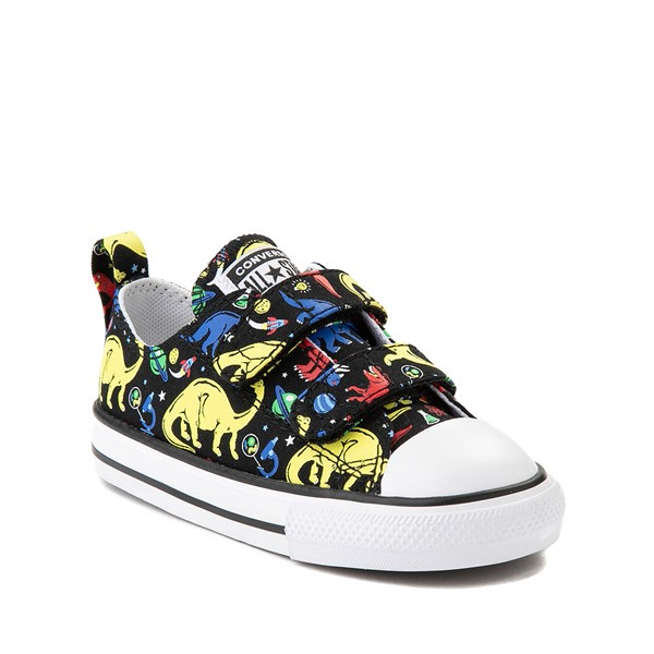 alternate image alternate view Converse Chuck Taylor All Star 2V Dinos Lo Sneaker - Baby / Toddler - BlackALT5