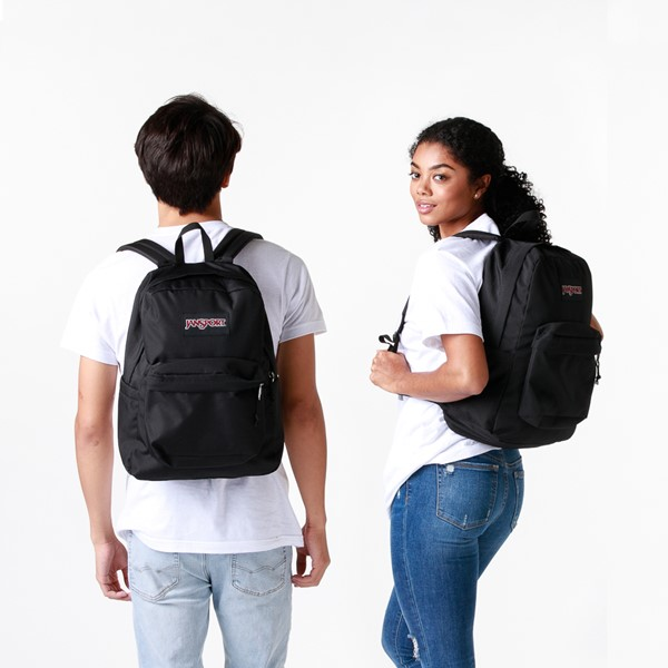 alternate image alternate view JanSport Superbreak Plus Backpack - BlackALT1BADULT