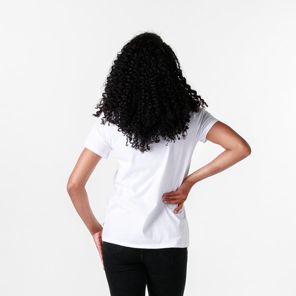 alternate image alternate view Womens Levi's Logo Tee - WhiteALT1