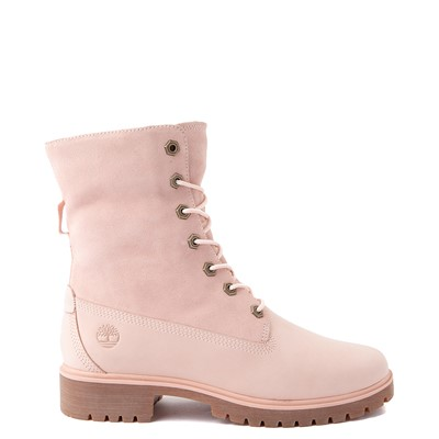 Alternate view of Womens Timberland Jayne Fleece Boot - Light Pink