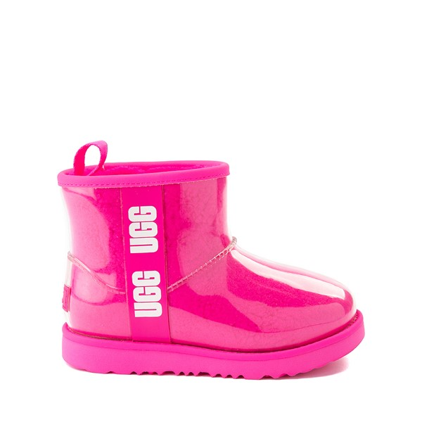 UGG® Classic Clear Mini II Boot - Toddler / Little Kid / Big Kid - Rock Rose